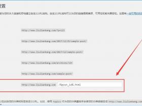 刘连康:WORDPRESS设置固定链接的方法