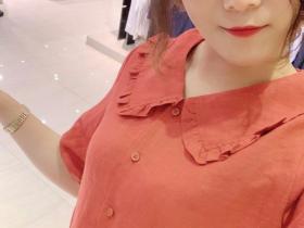很有味道的韩版棉麻连衣裙,端午佳节出游必备!