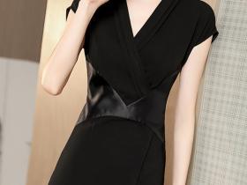 高腰显瘦开叉一步裙,穿出都市女人味儿!